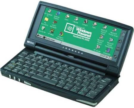 HP Jornada 720 running Handheld PC 2000